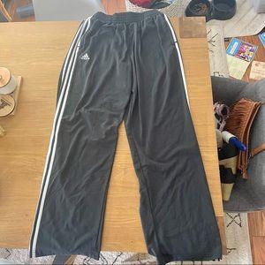 Men's adidas track pants L